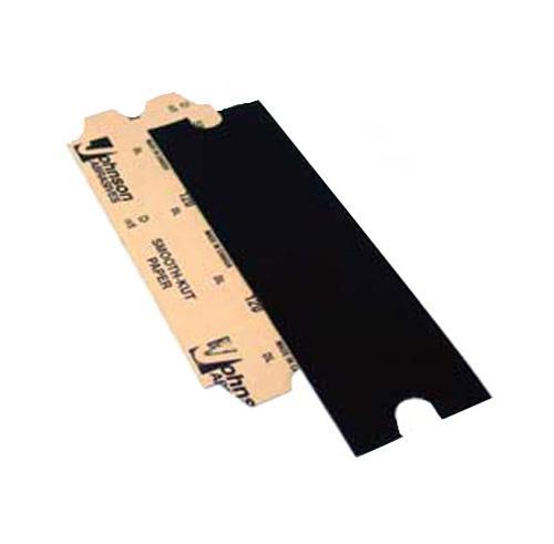 4 3/16 in x 11 1/4 in Johnson Abrasive 120 Grit Smooth-Kut Pole Sander Paper
