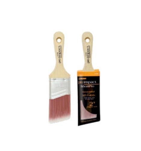 1 1/2 in Linzer Pro Impact Dyed Polyester Blend Paint Brush - 2160-1.5