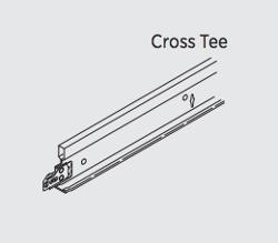2 ft x 15/16 in USG Donn Brand DX Cross Tee - DX216-205