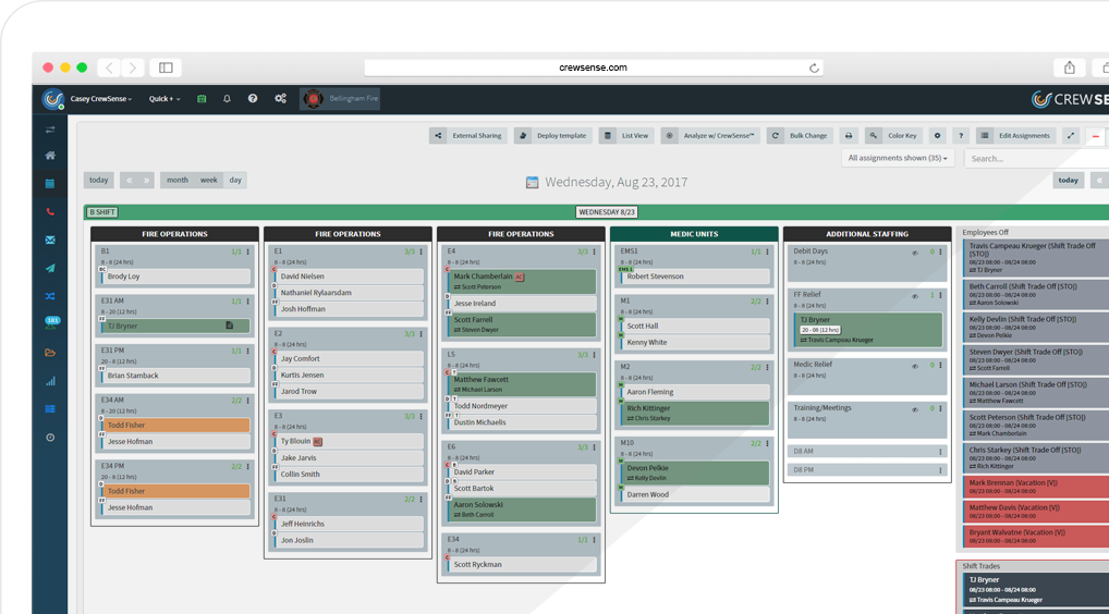 Crewsense Workforce Scheduling Amp Resource Management