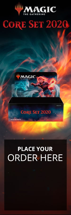 Angels! Demons! Dragons! Core Set 2020 showcases all there is to love about Magic and supports a variety of game formats!
