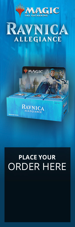 Darkness is coming to Ravnica. A conflict that could tear apart the world itself looms large, and the fragile peace between the guilds is strained to its breaking point. Now, with everything on the line, it's time to step up, prove your loyalty, and fight for your guild.