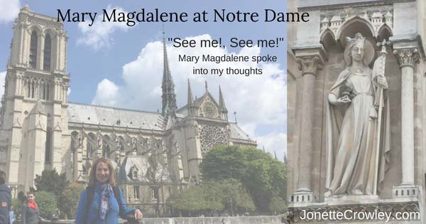 Mary Magdalene at Notre Dame