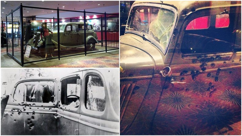Bonnie And Clyde Car Location: Bonnie And Clyde's Bullet-Riddled 'Death Car' Is On