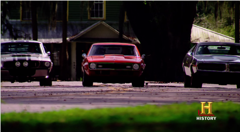 Top Gear Usa Debuts Tonight With A Trio Of American Muscle Cars In