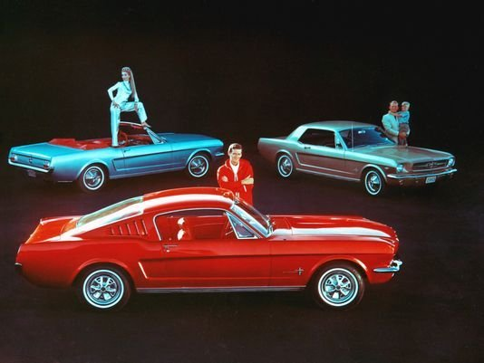 Mustang Color Scheme The 1964-1965 Color Schemes on
