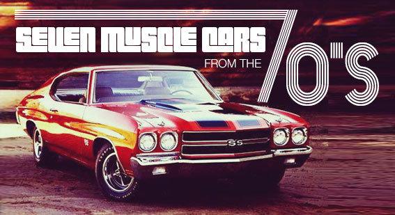 Seven S Muscle Cars Blog MCG Social MyClassicGarage - Cool muscle cars