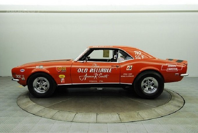 Old Reliable Drag Car