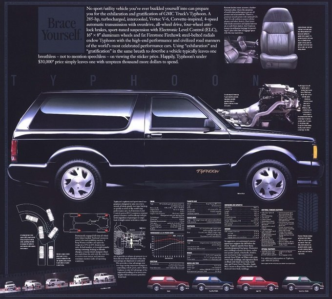 It S The Little Truck With A Big Heart The Gmc Syclone