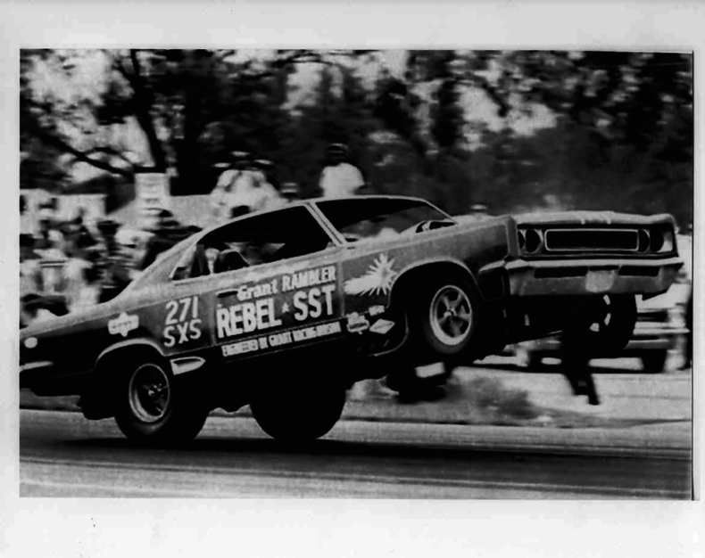 The rambler rebel funny car blog mcg social myclassicgarage soon hayden proffitt took over the grant funny car program and ran the rebel on the quarter mile in 811 seconds at 18085 mph sciox Images