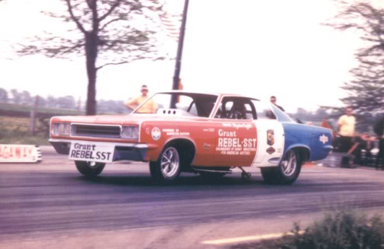 The rambler rebel funny car blog mcg social myclassicgarage scca trans am road racing while proffitt retired from racing for a few years proffitt sold the car to pat johnson and it was driven by 1970 march sciox Image collections