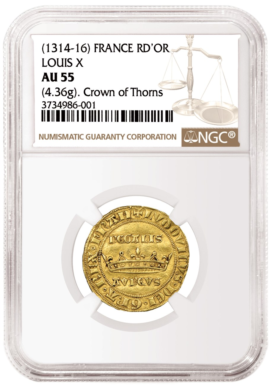NGC Grades Rare 700-Year-Old French Coin | NGC