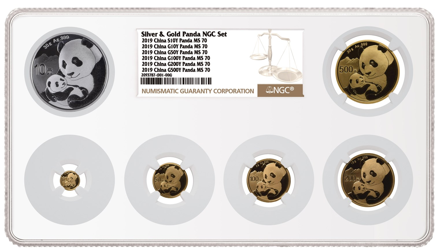 Ngc Introduces Multi Coin Holder For 4 5 Or 6 Coins Ngc