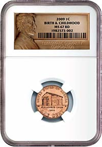 NGC Lincoln Label