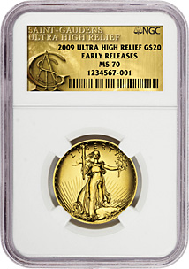 2009 Ultra High Relief NGC MS69