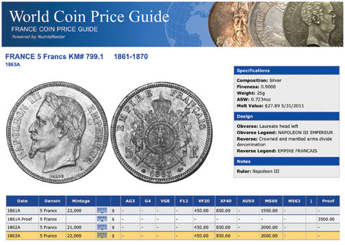 Ngc Releases Complete Online World Coin Price Guide Ngc