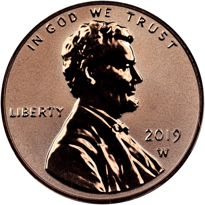 READY TO SHIP ! 2019 W PROOF Penny NEW West Point Mint Lincoln Cent NGC PF69