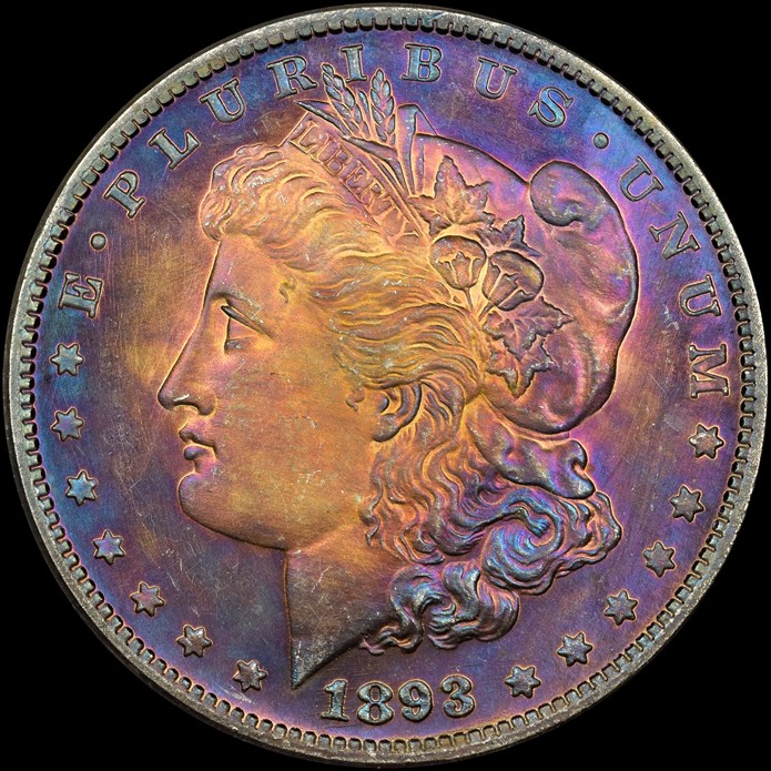 Counterfeit Detection: 1893-CC Morgan Dollar | NGC