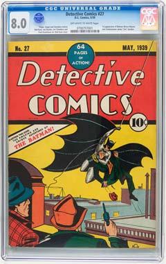 Action Comics #1 CGC 8.0