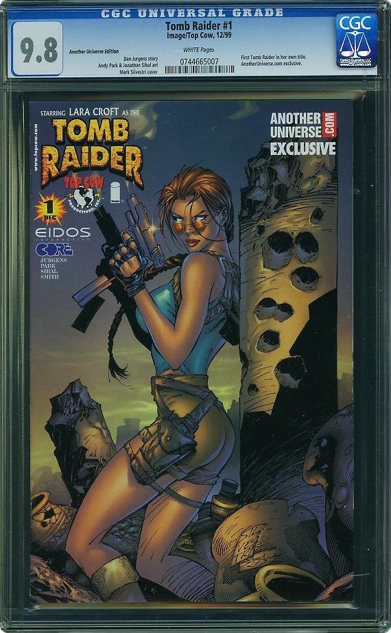 Tomb Raider 1 Is Cgc S Featured Comic Of The Month For February Cgc