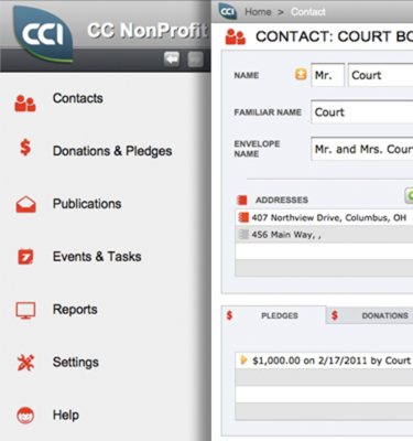 FileMaker NonProfit Starter Solution ccNonProfit by Cleveland Consulting
