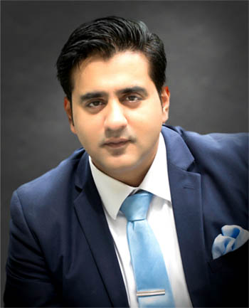 Headshot of Ahmed 'MONTY' Khan