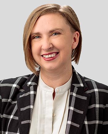 Headshot of April Burlingame