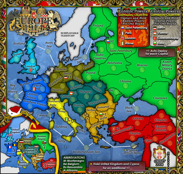 Conquer Club Game 13488735 Play Risk Online Free