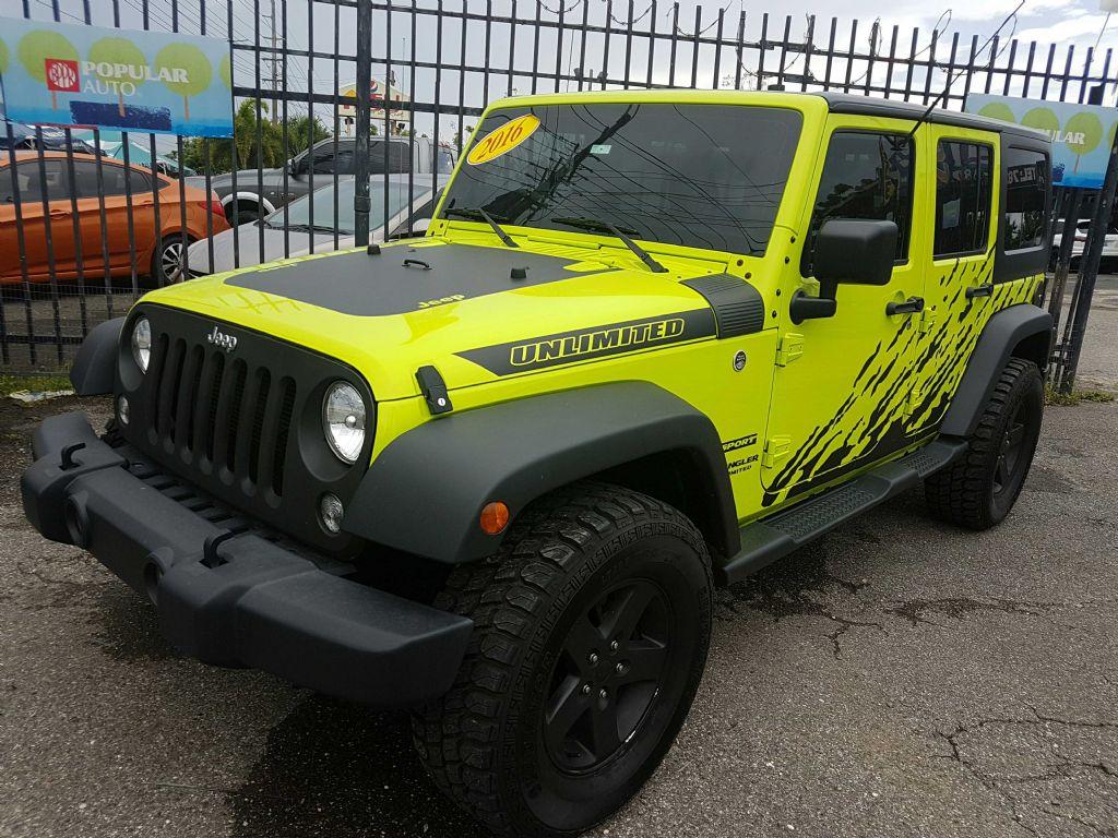 Popular Auto Jeep Wrangler 2016 Imanol Auto Inc Naranjito