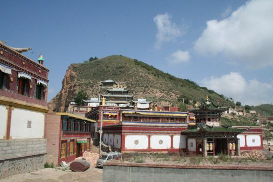 Image of Main Assembly Hall, Jakhyung Monastery