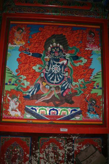 Image of Tantric Deity Wall Mural