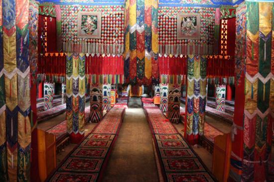 Image of Main Hall, Jakhyung Monastery