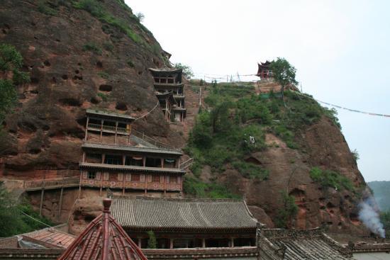 Image of Shrine Halls--Shadzong Monastery
