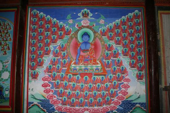 Image of Medicine Buddha Wall Mural