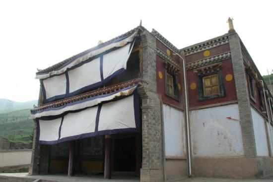 Image of Assembly Hall Exterior,  Upper Drotsang Monastery