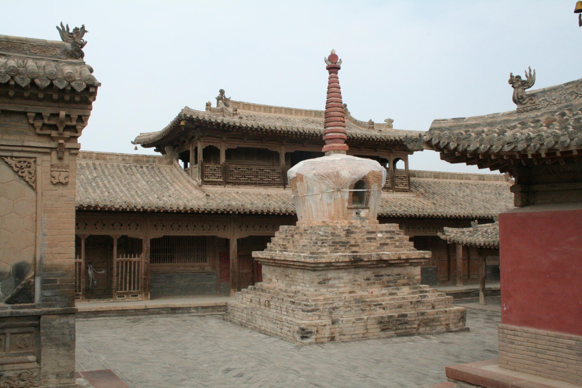 Image of Stupa, Drotsang Monastery