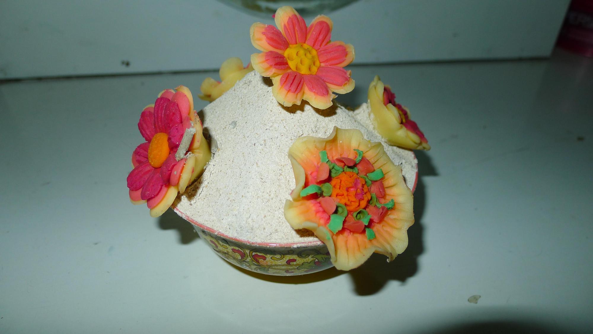 Image of Butter Sculpture and Tsampa (Gloria ND 1)