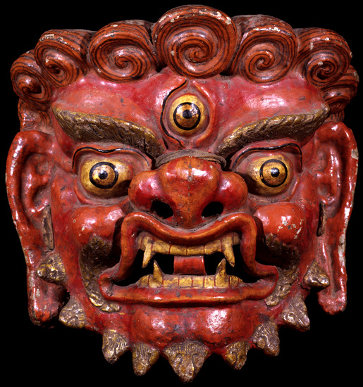 Image of Mask for Ritual Dance