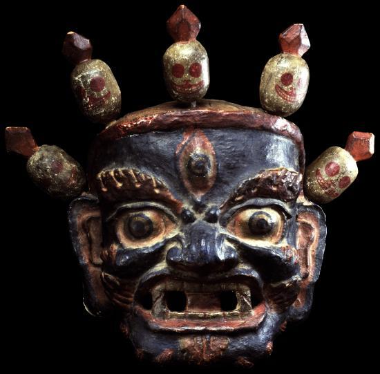 Image of Mask, Gonpo, Buddhist Protector