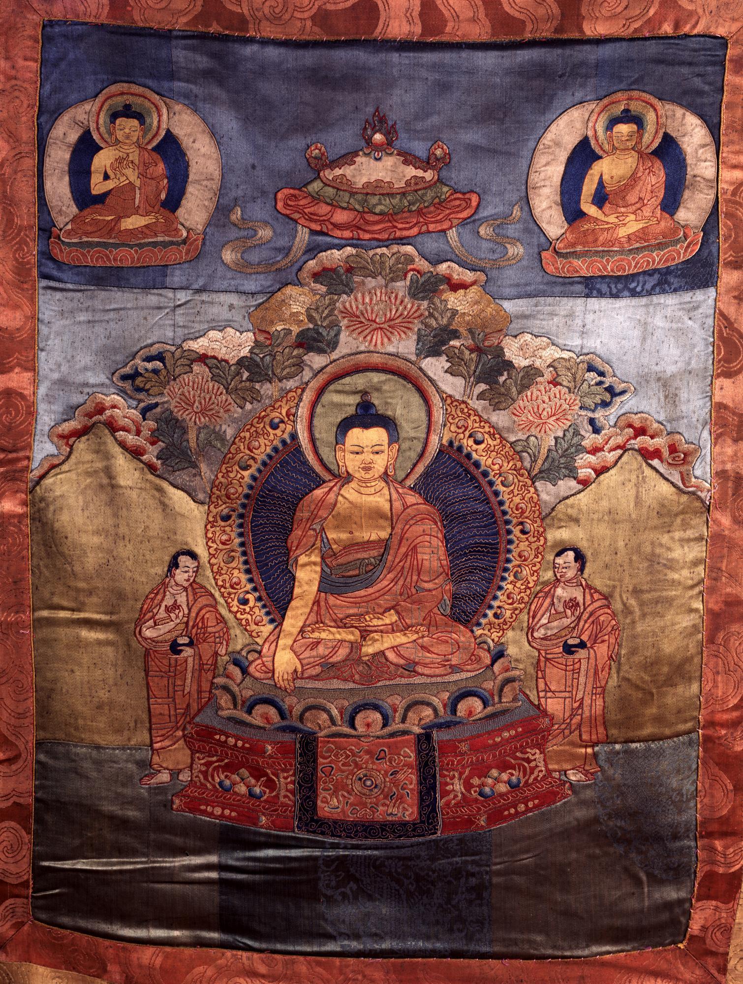 Image of Shakyamuni Buddha Tapestry