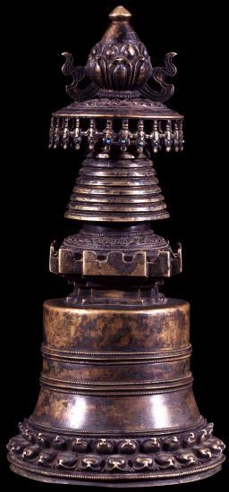 Image of Stupa, Kadampa Chorten