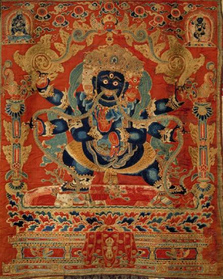 Image of Vajrapani Mahachakra Tapestry