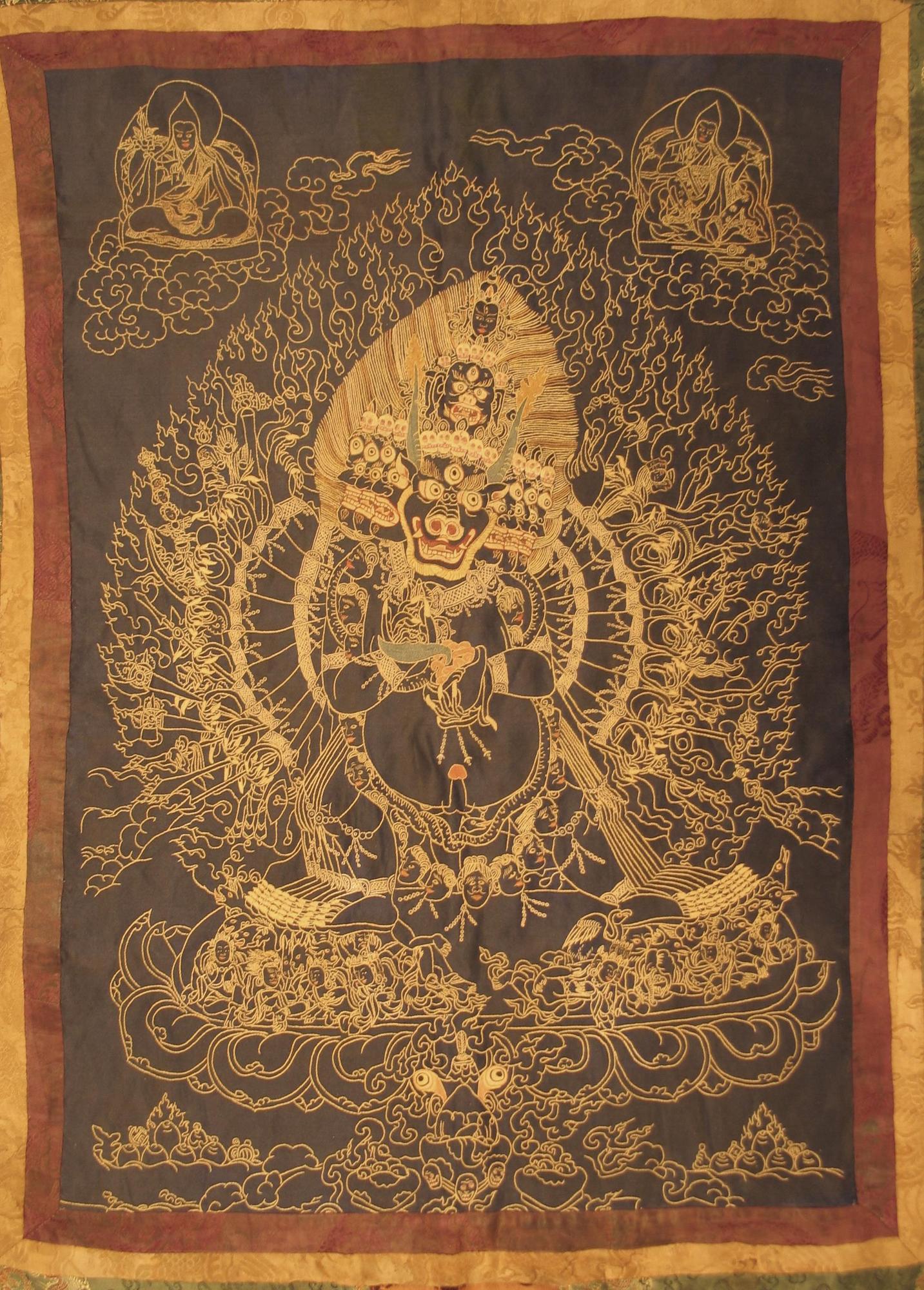 Image of Vajrabhairava Tapestry