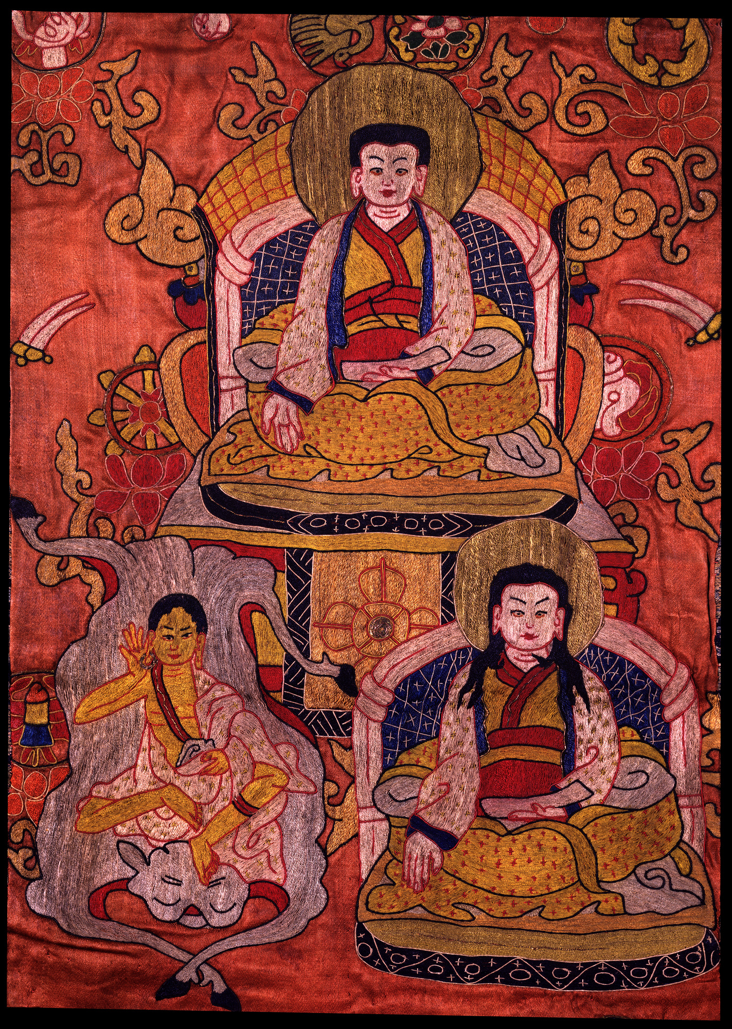 Image of Lama Marpa Chokyi Lodro Tapestry