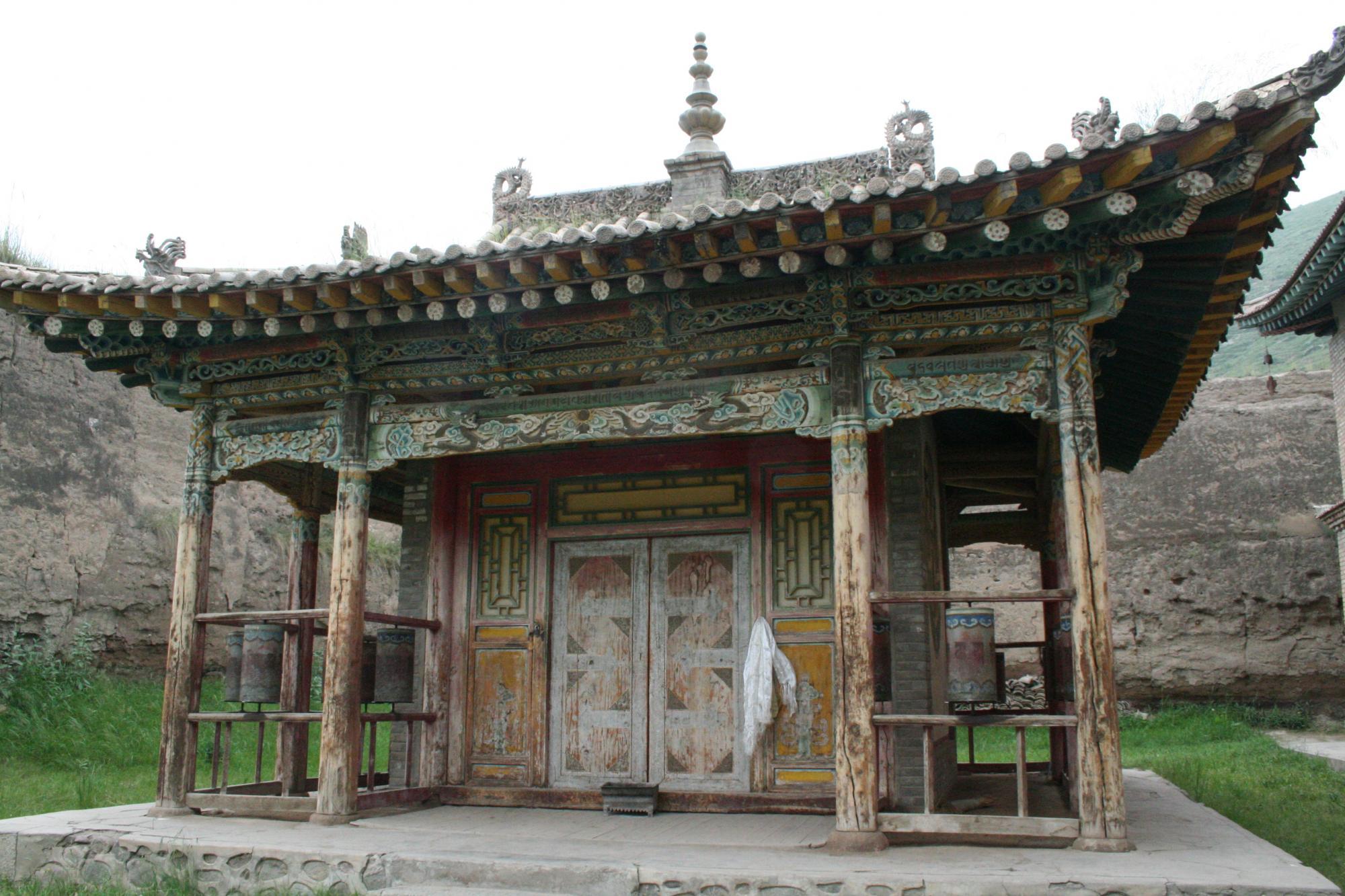 Image of Side Hall, Tsenpo Monastery