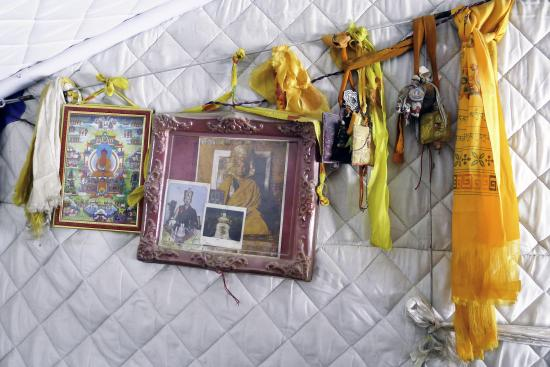 Image of Shrine in Tent