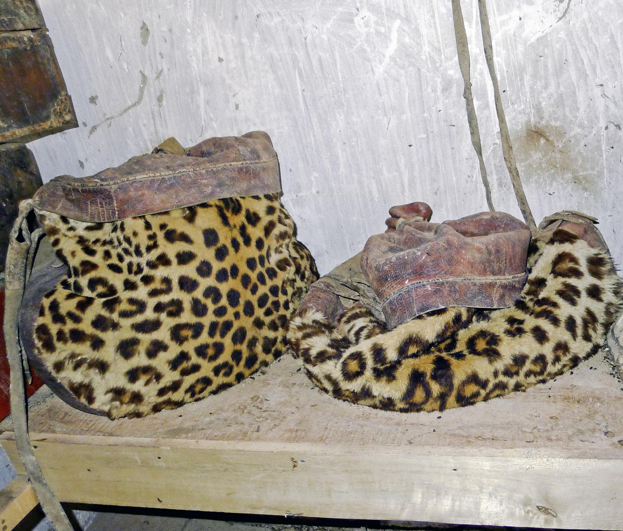 Image of Leopard Skin Bags