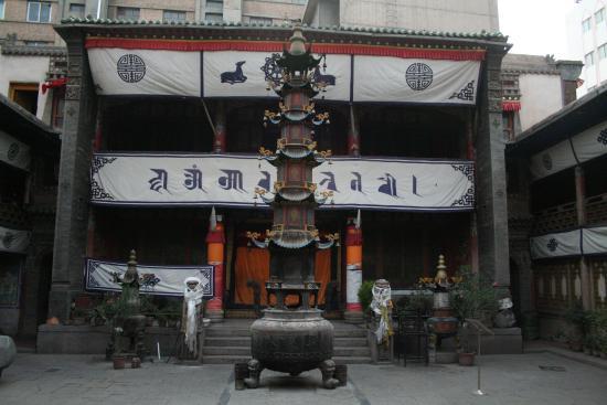 Image of Stupa, Jinta Temple