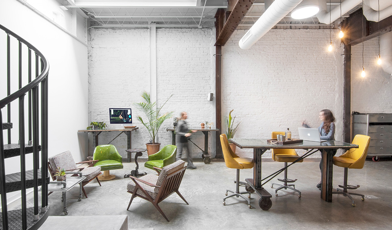 Get a glimpse into the stunning live/work studio of a local photographer