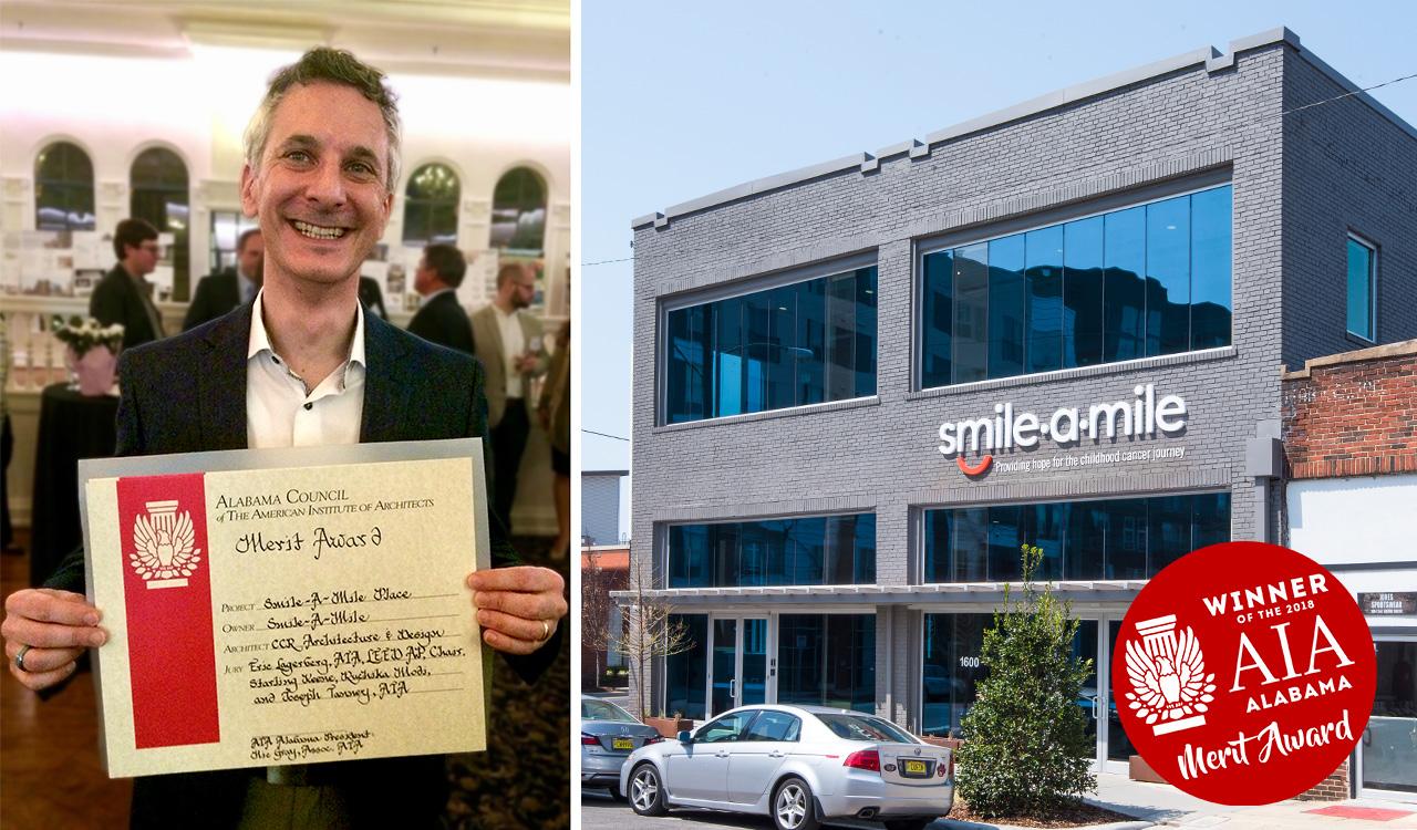 Smile-A-Mile Place wins an Alabama AIA Merit Award